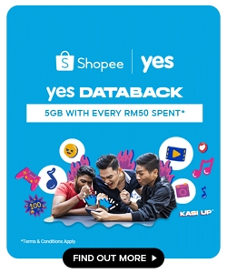 Shopee yes free data