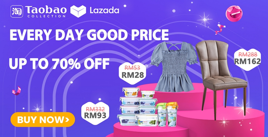 Taobao Lazada collection